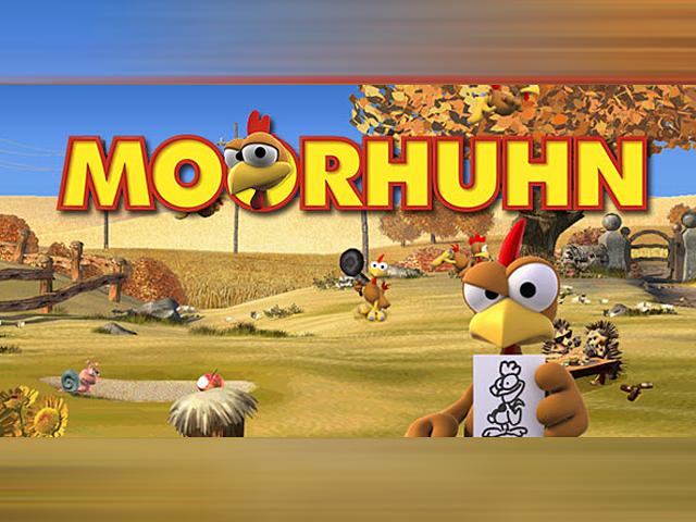 Онлайн-аппарат Moorhuhn