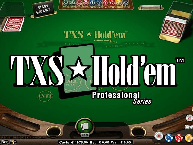 Онлайн-автомат TXS Hold'em Pro Series