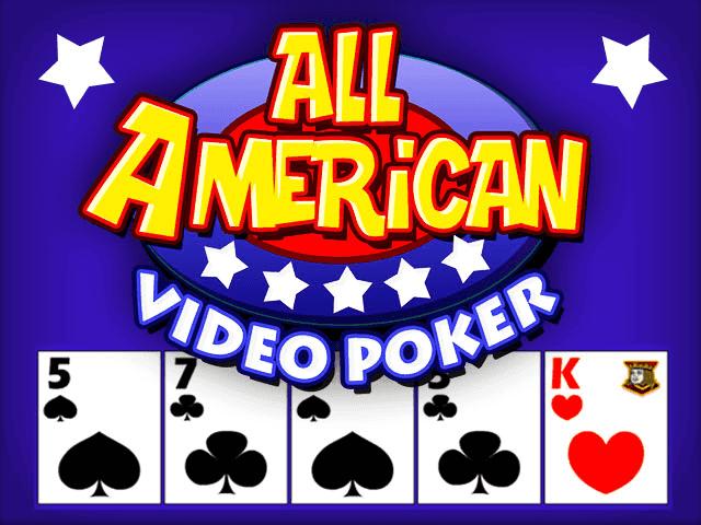Автомат All American Video Poker Multihand
