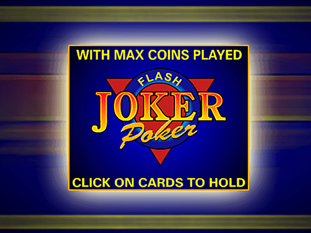 Онлайн-аппарат Джокер Покер