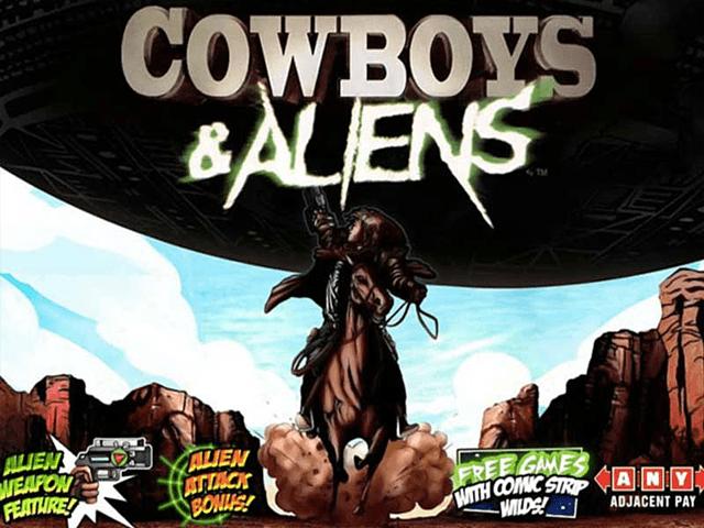 Игровой аппарат Cowboys & Aliens