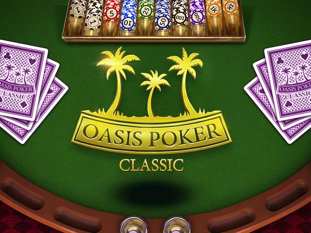 Игровой аппарат Oasis Poker Classic
