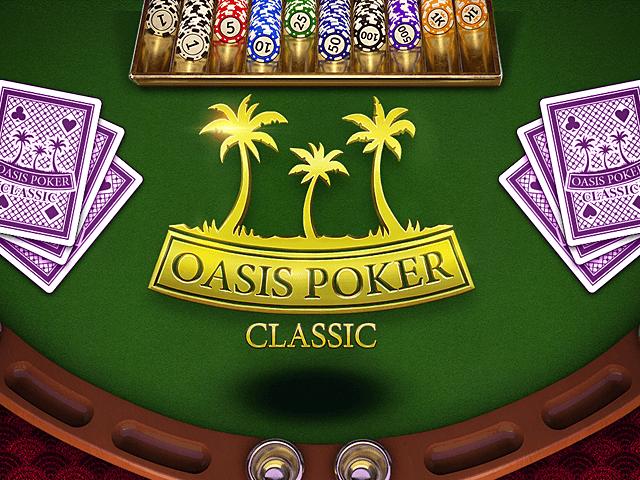 Игровой аппарат Oasis Poker